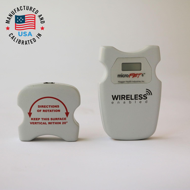 美国 HOGGAN 霍根科学 MicroFET 6 肌肉力量测试仪肌肉测试测力计