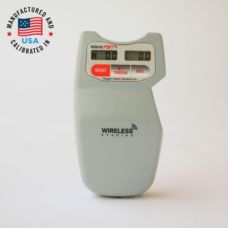 美国 HOGGAN 霍根科学 MicroFET 3 肌肉力量测试仪肌肉测试测力计